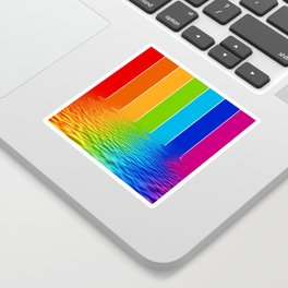 spectrum water reflection Sticker