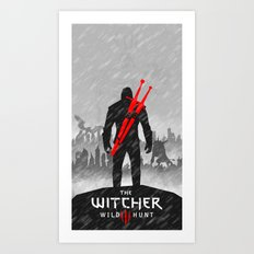 witcher Art Print