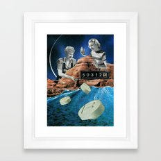 Retoxing Framed Art Print