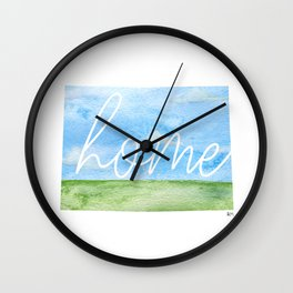 Colorado Home State Wall Clock