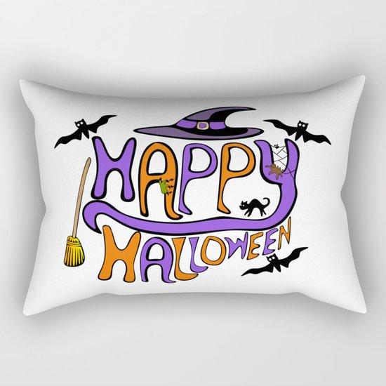 Happy Halloween! Rectangular Pillow