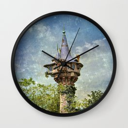 Princess Decor Wall Clock