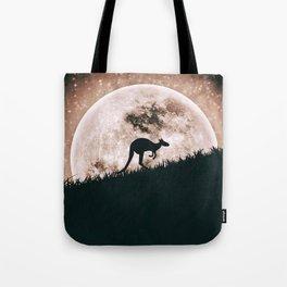 The solitary kangaroo Tote Bag