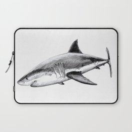 Great white shark (Carcharodon carcharias) Laptop Sleeve