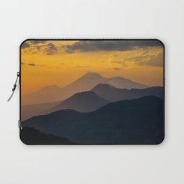 Sunset El Hoyo, Nicaragua Laptop Sleeve