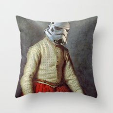 Tailor trooper Throw Pillow