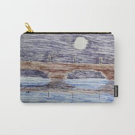 Bridge at night Carry-All Pouch
