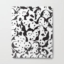 Panda Panda Metal Print