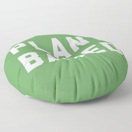 Plant Based Vegan Quote Floor Pillow