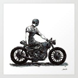 Rider 4 Art Print