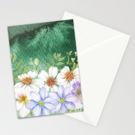 Flowers bouquet 73 Stationery Cards