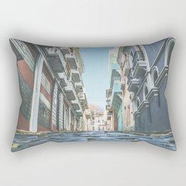 Puerto Rico Streets Rectangular Pillow