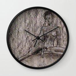 Sitting Nude Wall Clock