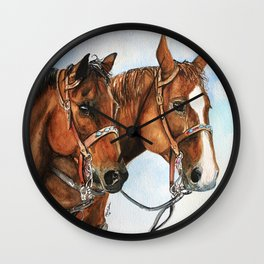 Chloe's Charges Wall Clock