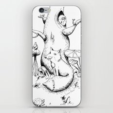 The fox iPhone & iPod Skin