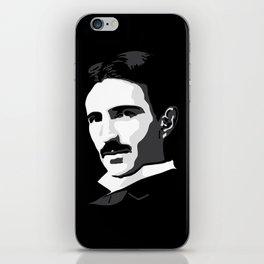 Nikola Tesla iPhone Skin