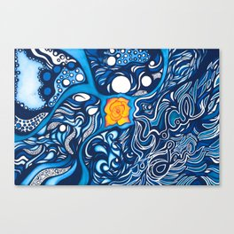SoCal Love Painting Canvas Print