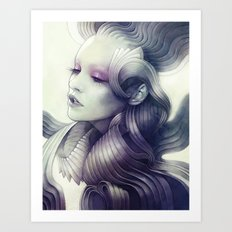 Mantle Art Print