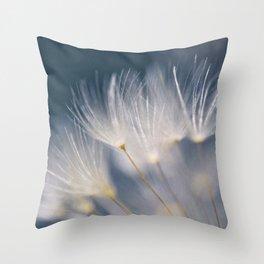 soft lights Throw Pillow