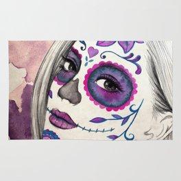 Sugar Skull Girl Rug