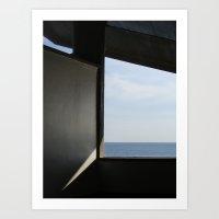 Piscinas SIZA OPORTO Art Print