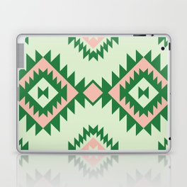 Navajo motif with watermelon pallet Laptop & iPad Skin