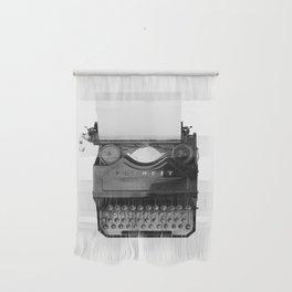 typewriter Wall Hanging