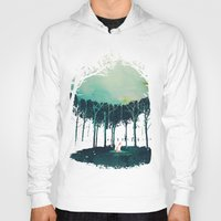 Hoodies featuring Deep in the forest by Robert Farkas