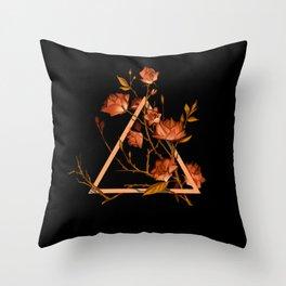 Tea Element - Fire / Rose Rooibos Throw Pillow