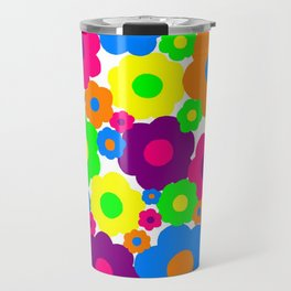 Flower Power! Travel Mug