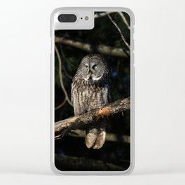 Darkness I defy thee Clear iPhone Case
