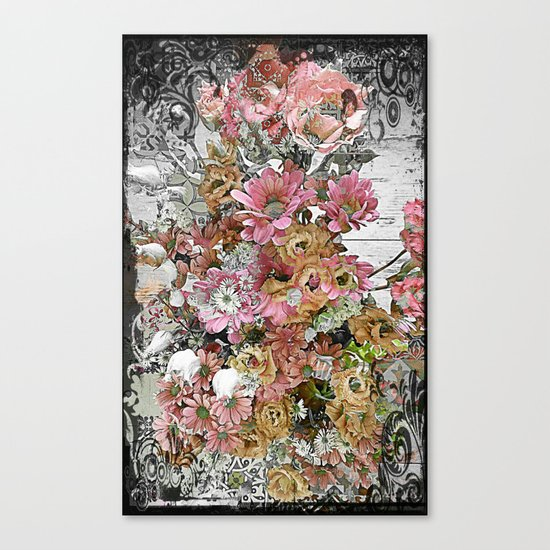 Chic, Pink and Pretty Canvas Print