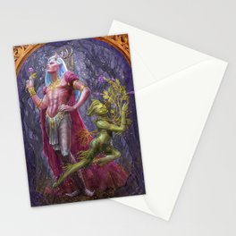 Oberon and Puck Stationery Cards