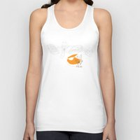 meat Tank Tops featuring meat by deux wolf