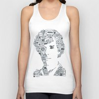 benedict cumberbatch Tank Tops featuring Benedict Cumberbatch by Ron Goswami