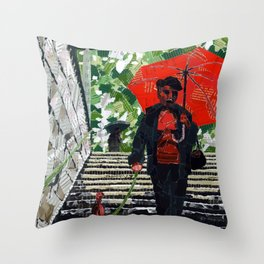 Metro (Métro) Throw Pillow