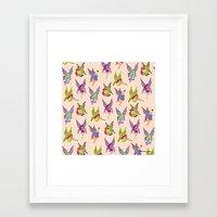 fairies Framed Art Prints featuring Fairies by Elizabeth Kate