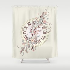 Blossoming Passage Shower Curtain