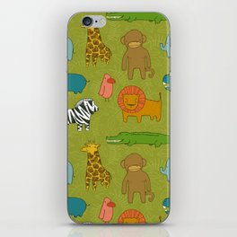 Jungle Pattern iPhone Skin