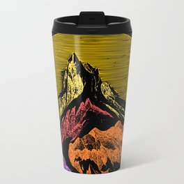 The Acid Peak of Tempests Metal Travel Mug