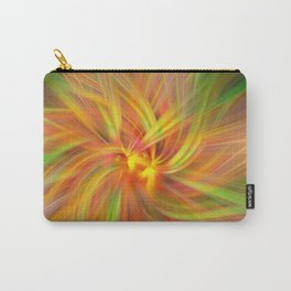 Iris Twirled Carry-All Pouch