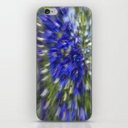 Blue Diffusion iPhone Skin