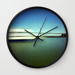 Ferry and Bay Bridge Wall Clock