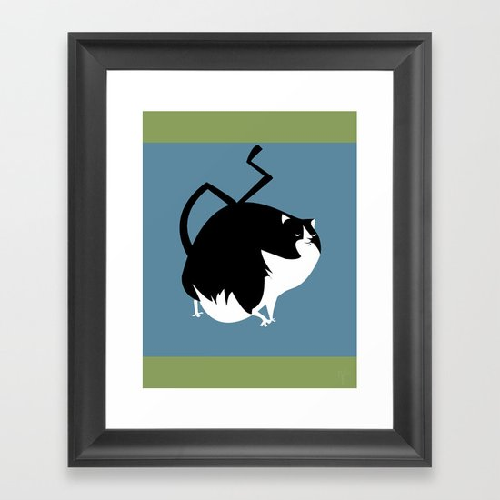 Lucky Cat Framed Art Print