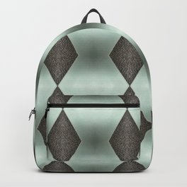 Mint Green, Cream & Chocolate Brown No. 5 Backpack