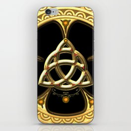 Decorative celtic knot iPhone Skin