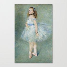 Pierre-Auguste Renoir - The Dancer Canvas Print