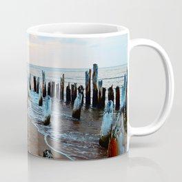 Water licks the Wharf's Remains Coffee Mug