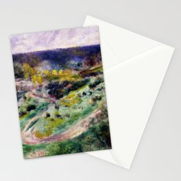 Road at Wargemont Stationery Cards