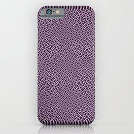 Grandma's Knitting Pattern iPhone Case
